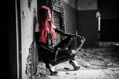 Redhead Escort